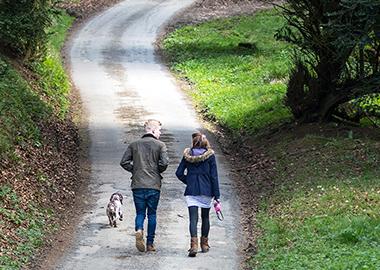 Walking at Miserden